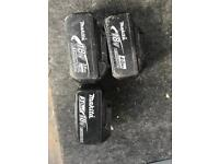 Makita 18v Batteries