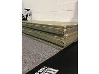 9 green mats judo gymnastics gym equipment