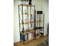Room Divider or Bookcase units and TV / Coffee Tables