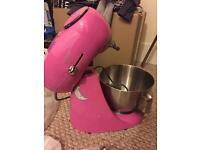 Kenwood pink patissier mixer