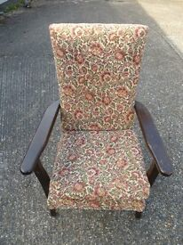 Wooden Armchair (Early 1980s)