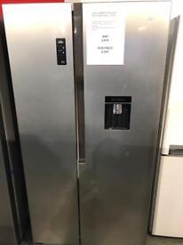 New Logik american fridge freezer