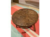 Quaint old wooden table