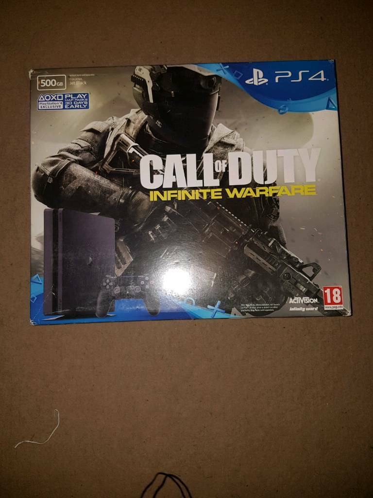 SEALED PS4 SLIM 500GB WITH CALL OF DUTY INFINITE WARFARE