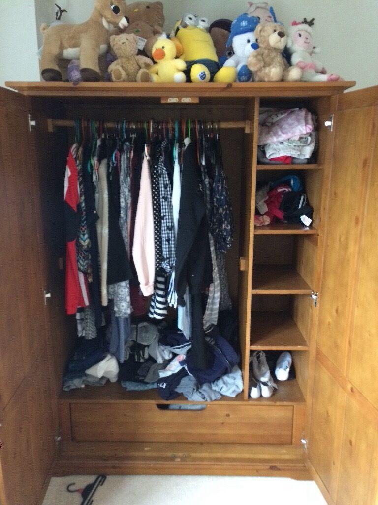 Mamas and papas wardrobe.