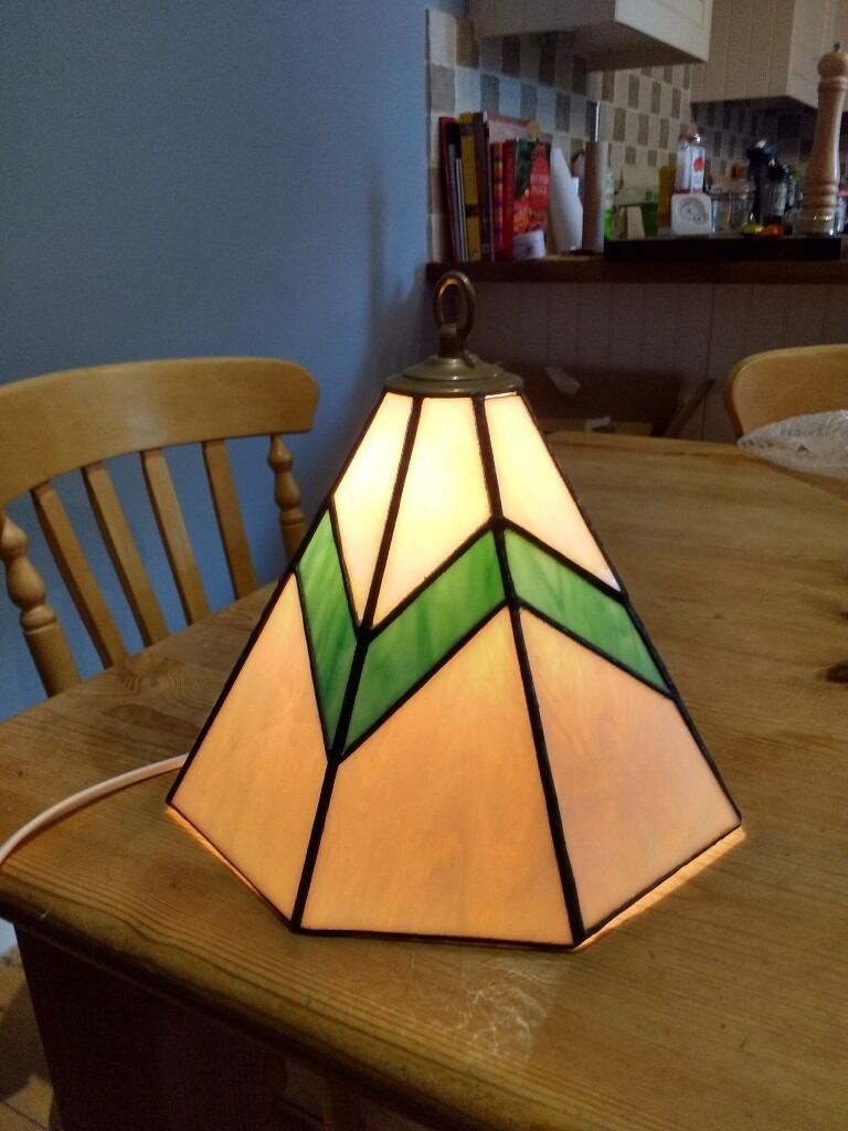 Quality Stained glass pendant shade