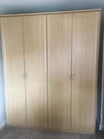 4 door wardrobe