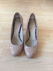 Nude Jasper Conran Court Shoes Size 7