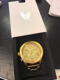 Nixon chronograph watch,new in box