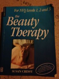 the beauty therapy book level 1, 2, and 3