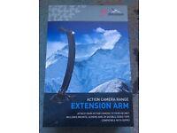 GO PRO Compatible Helmet Extension Arm