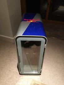 REDBULL MINI DRINKS FRIDGE, AS NEW. CHILLS DRINKS ICE COLD.........