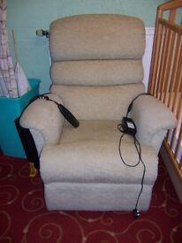 Electric recliner/upriser at Cambridge Re-Use (cambridge reuse)