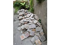 Original quarry tiles from Victorian house