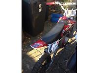 Stomp pit bike 110cc dirt bike