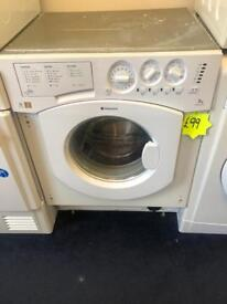 *** Hotpoint intergrated 7kg 1400spin washing machine***Free Delivery**Fitting**Removal