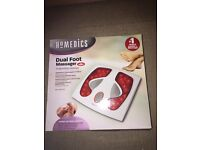 Homedics dual foot massage