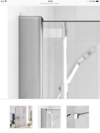 Shower screen 2000mm x 900mm. Brand new in box.