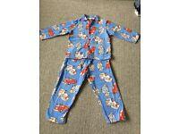 Fire Truck Flannel Pyjamas - 2-3yr - £3