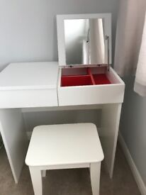 Ikea Dressing table and stool