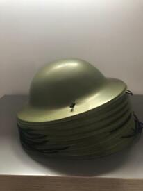Plastic army hats