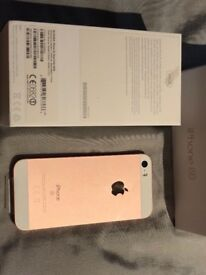 Apple iphone se rose gold 64 gb new !! Unlocked !