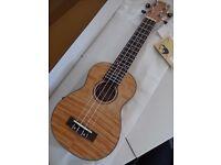 Korala Soprano Ukulele UKS-310-E Solid Okume Top & Fishman EQ RRP £169