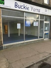 ******SHOP PROPERTY IN BUCKIE - CENTRAL LOCATION FOR RENT***