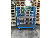 10 x two tier steel Trolleys