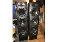 Wharfedale valdus 500 200w floor standing speakers