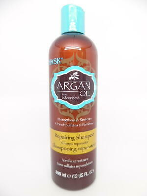 Hask Argan Oil from Morocco Repairing Shampoo, Sulfate & Paraben Free 12 oz.