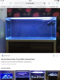 Fluval m90 aquarium