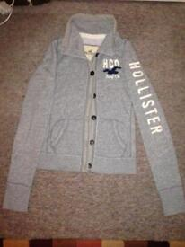 Hollister women's small jumper cardigan.