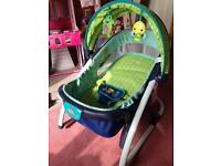 Bright starts baby chair with music and lights