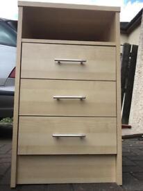 Beach office 3 drawer unit