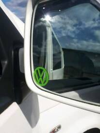 VW coloured wing mirror decals sticker pair posted