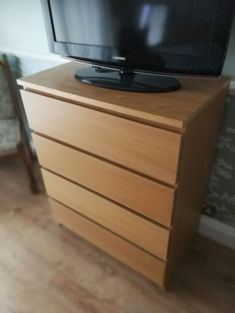 Ikea Malm 4 Drawer Chest In Southampton Hampshire Gumtree