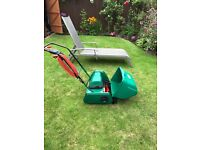 Webb C12E lawn mower. Excellent condition. Over £300 new.