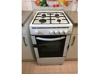 Four burner gas cooker