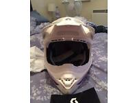 Scott motocross helmet