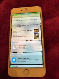 iPhone 6 Plus gold 64 gb sim free