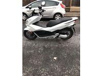Honda pcx 125 low mileage