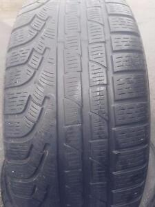 2 PNEUS HIVER - PIRELLI 225 50 17 - WINTER TIRES