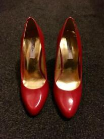 Red Ted Baker Shoes