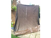 Universal Inner tent for awning or tent 6ft by 6ft, good condition