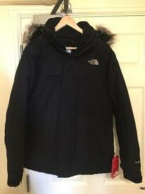 The Nort face Nanavik Jacket S size ,Black
