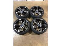 """Brand new set of 20"""" alloy wheels and tyres Ford transit custom , mk7"""