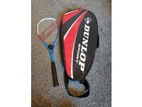 Squash racquet & bag