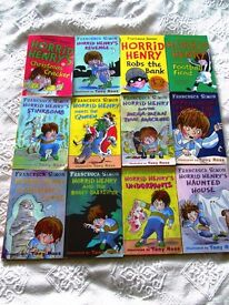 Collection of Horrid Henry books