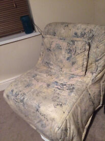 Free single chair bed